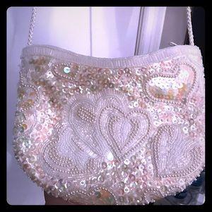 Vintage beaded sequin purse