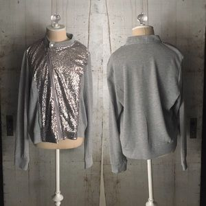 Juicy Couture Jackets & Blazers - JUICY COUTURE SequinFrenchTerryJACKET Asymmetrical