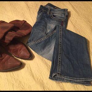 Silver Jeans Denim - Silver blue jeans