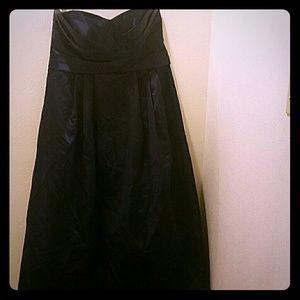 David's Bridal Dresses & Skirts - Plus size 18 Navy Blue Strapless Prom Dress