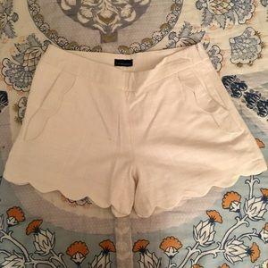 Cynthia Rowley Pants - Cynthia Rowley Scallop Shorts