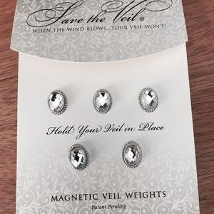 """Accessories - Authentic """"Save the Veil"""" wedding Veil weights"""