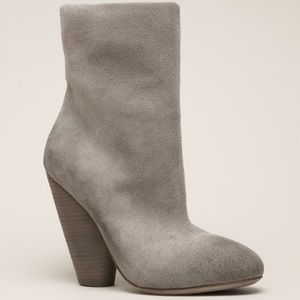 Marsell Shoes - Marsell Light Grey Suede Boots