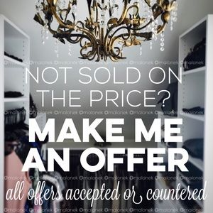 Other - Love the item, but not the price? Make an offer!