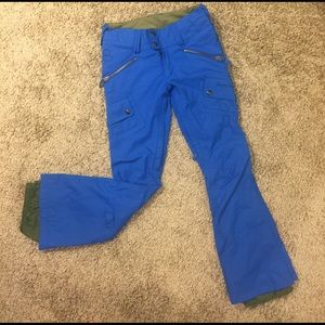 Burton ski snowboarding pants for teen girl