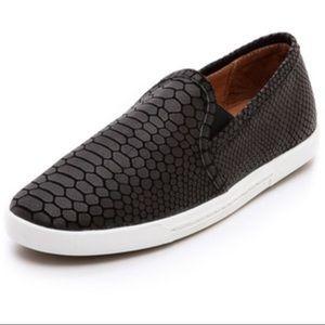 Joie Kidmore Slip On sneaker Black python print