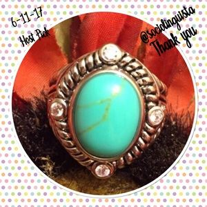 Jewelry - Turquoise Ring 🌻HP🌻 6-11-17