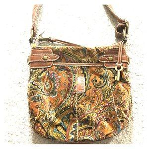 Fossil Handbags - 🗝 Fossil cross-body messenger style purse