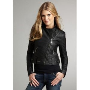 people's liberation Jackets & Blazers - People's Liberation faux leather biker jacket XS