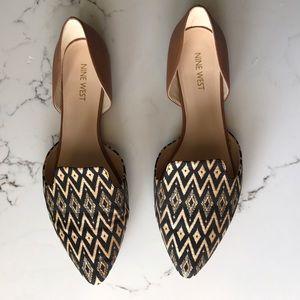 Nine West Shoes - Nine West Two Piece Flats