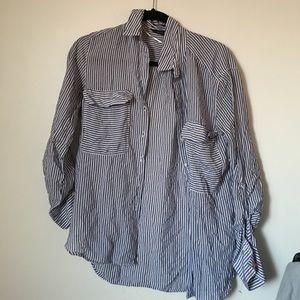 Zara Striped Button Down