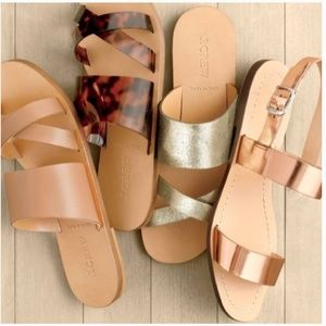 J. Crew Shoes - J. Crew. Bali Slide Sandals in Cypress Sz 10