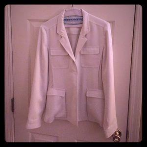 Tahari Jackets & Blazers - White blazer