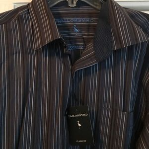 Tailorbyrd Other - Tailorbyrd classic fit NEW dress shirt XXL