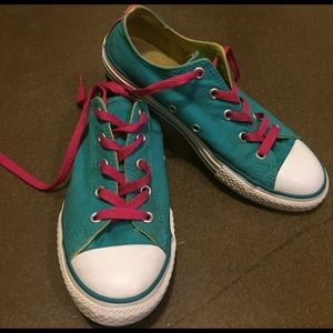 Converse Other - Converse Teal Double Tongue