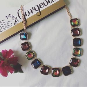 Jewelry - 💕Luxury Multicolor Crystal Necklace💕