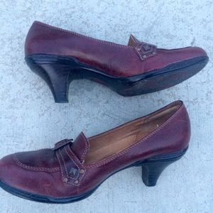 Sofft Shoes - Brown Leather Shoes - Sofft brand size 8