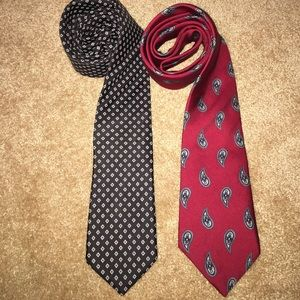 Christian Dior Other - Christian Dior neck tie set