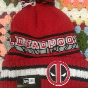 Other - Deadpool Pom Beanie