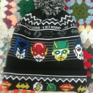 Other - Justice League Pom Beanie