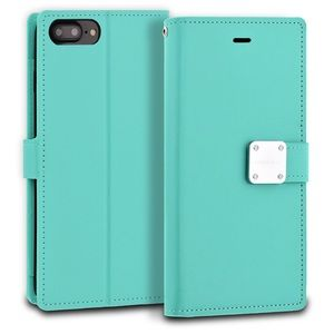 Accessories - iPhone 7/7 Plus Mint Modeblue Wallet Case