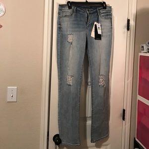 Calvin Klein Jeans Denim - Calvin Klein Distressed Jeans