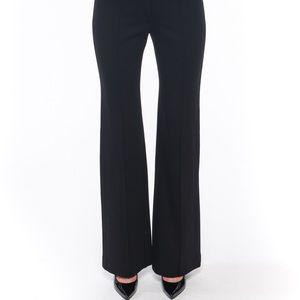 Margaret O'Leary Pants - Margaret O'Leary black trouser pants