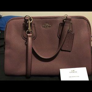 Coach Handbags - Purple Coach Purse