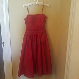 Betsy & Adam Dresses & Skirts - Red dress,  size 4