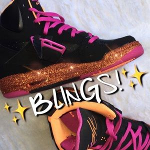 Jordan Other - ✨ CUSTOM • BRAND NEW! Bling/Sparkle Nike Jordan