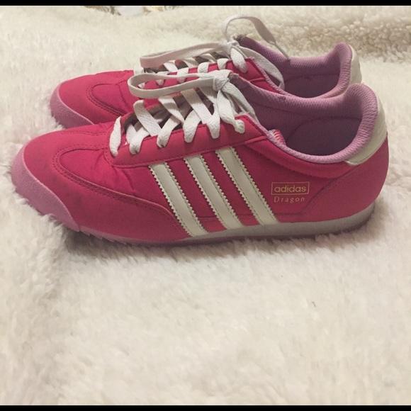 Adidas Dragon pink sneakers