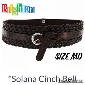 NWT Brighton Solana Cinch Belt SZ MD💲1 DAY DALE