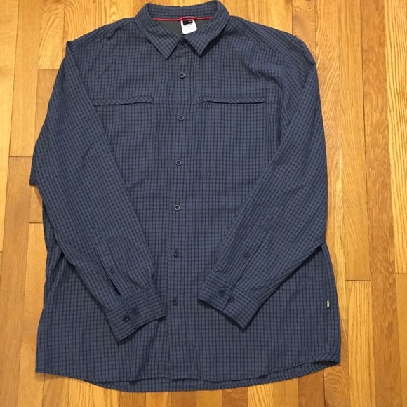 6251656c6 Men's Long Sleeve XL North Face Button Down