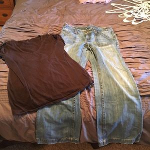 Banana Republic Pants - Shirt and pants for only $40!!!! 2 for price of 1!