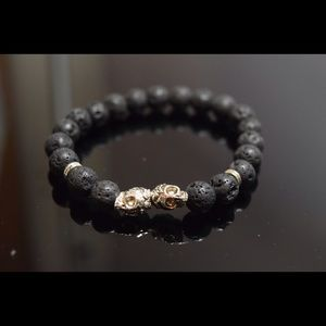 Other - Men's Bracelet Silver Skull (LAST ONE)
