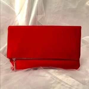 Boutique Handbags - Velvet Clutch