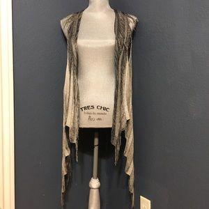 Daytrip Jackets & Blazers - Daytrip Metallic Vest NWOT