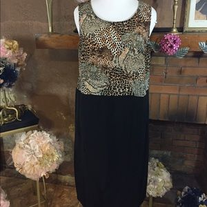 Stacey  Dresses & Skirts - Stacey animal print dress sz 16