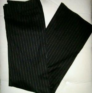 New York & Company Pants - 💋NEW! New York & Company black pinstripe trousers