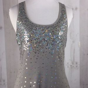 EUC M Express sequined tank top
