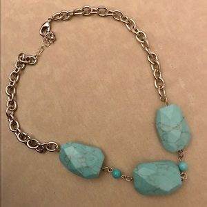 Jewelry - 💠NWOT Turquoise/Silver Necklace💠