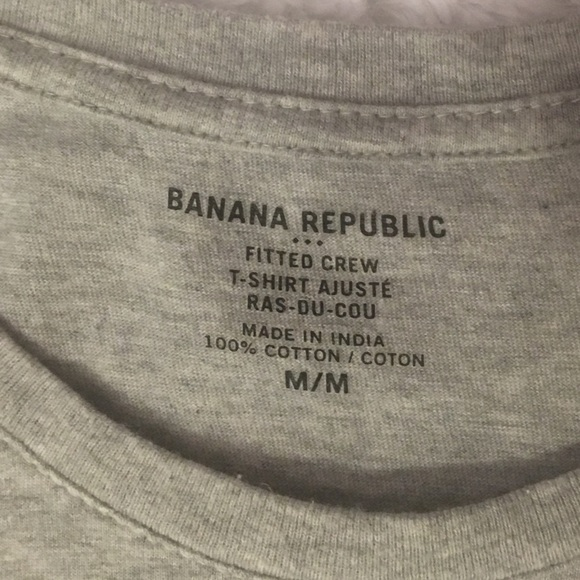 2 Mens Banana Republic Fitted French Cuff Dress Shirt 16 ...
