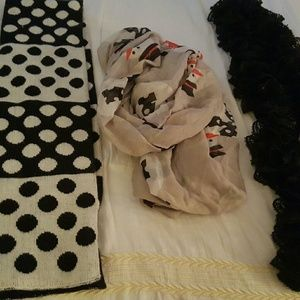 Accessory Collective Accessories - Winter scarves -get all 3 for a price of 1