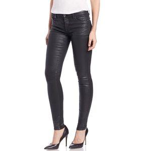 James Jeans Pants - James Jeans Twiggy Black Metallic Skinny Jeans Nwt