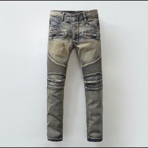 Pierre Balmain Other - Authentic Balmain Biker Jeans