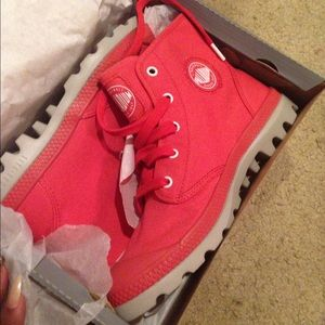 Palladium Shoes - Red palladium boots