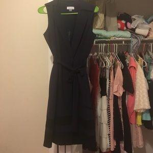CK navy blue dress