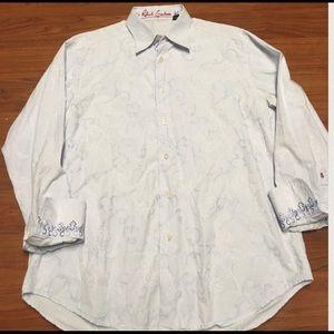 Robert Graham Other - Robert Graham Men's Long Sleeve Dress Shirt, Large