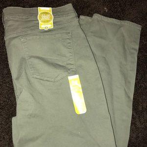 Old Navy Pants - Olive Skinny Leg Sweetheart Pants - Old Navy