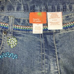 Hearts of Palm Denim - 💝 NWT Embroidered Jeans